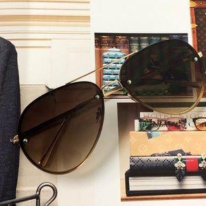 NWT - JLO Tinted Lens Aviator Sunglasses